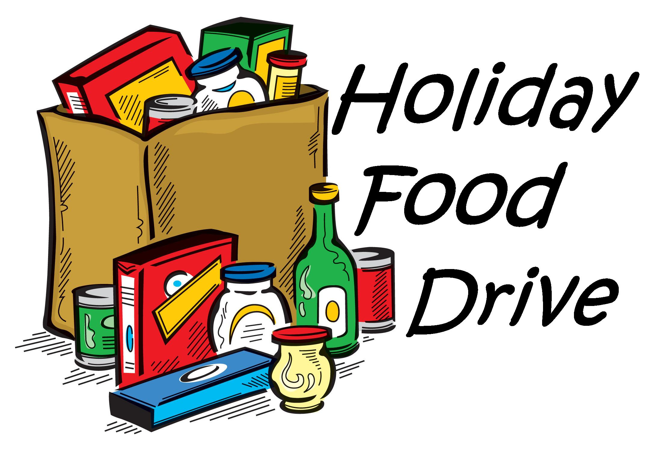 Holiday Food Drive at Halsa