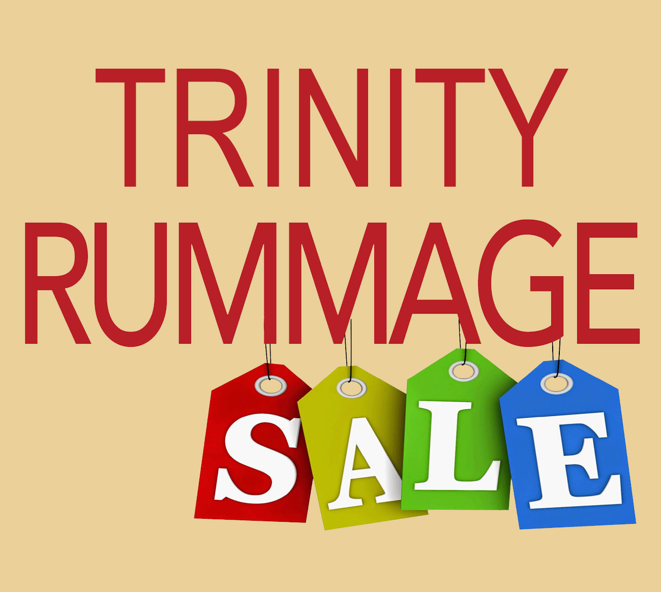 Annual rummage sale set for April 26 and 27 – Trinity