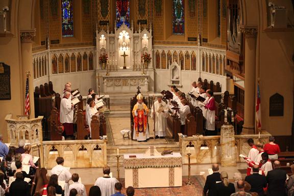 Service of Dedication for Macsherry Parish Center, October 17, 2010
